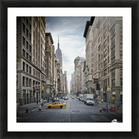 NEW YORK CITY 5th Avenue   Picture Frame print