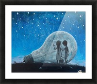 The Night We Broke The Moon Picture Frame print