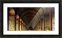 Thomas Burgh Library, Trinity College, Dublin, Ireland Picture Frame print