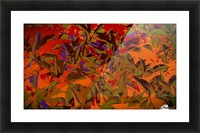 bushesabstract Picture Frame print