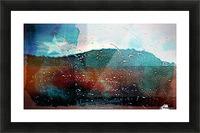 rainwindowflag Picture Frame print