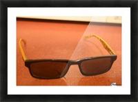Sun glasses Picture Frame print