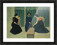 Gossip by Felix Vallotton Picture Frame print