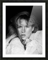 KIM BASINGER Picture Frame print