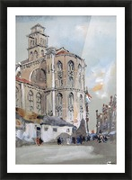 Church of Santa Maria Gloriosa de Frari, Venice Picture Frame print