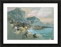 Capri Picture Frame print