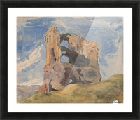 Tomb in Campagna Picture Frame print