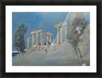 Paestum, Italy Picture Frame print