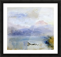 Lake scene Picture Frame print