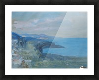 On the Riviera, France Picture Frame print