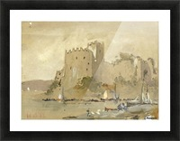 Chepstow Castle Picture Frame print