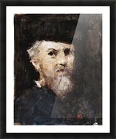 A souvenir of a self-portrait by Jean-Jacques Henner Picture Frame print