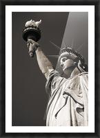 Statue Of Liberty, Lower Manhattan, New York City, New York, Usa Picture Frame print