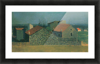 Houses in Puteaux by Felix Vallotton Picture Frame print