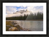 Mountain Landscape, Banff National Park, Alberta, Canada Picture Frame print