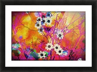 Fancy Weeds Picture Frame print
