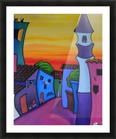 Lane in Languedoc Picture Frame print