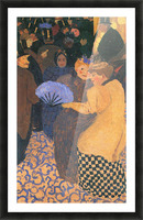 In the music hall by Felix Vallotton Picture Frame print