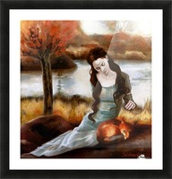FoxFairy Picture Frame print
