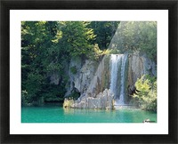 waterfall - Plitvicer lakes-nationalpark Picture Frame print