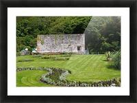 Victorian Walled Garden , Kylemore Abbey, Ireland, Picture Frame print