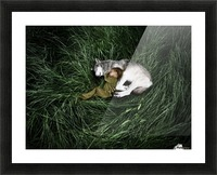 Unison with nature Picture Frame print