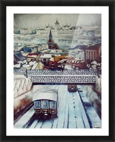 Nostalgia Cable Car in Budapest Picture Frame print