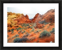 Desert Colors Picture Frame print
