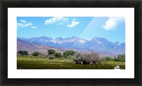 Mountain Valley Picture Frame print