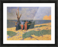 July in Etretat by Felix Vallotton Picture Frame print