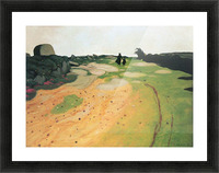 Landscape in Breton by Felix Vallotton Picture Frame print