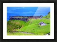 St Kitts Brimstone Hill Bastion Picture Frame print