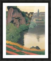 Landscape Semur by Felix Vallotton Picture Frame print