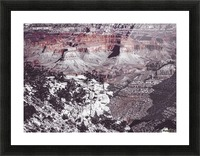 at Grand Canyon national park, USA Picture Frame print