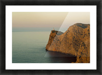 Views Of The Lighthouse At Sunset, Cap De Formentor, Mallorca, Balearic Islands, Spain Picture Frame print