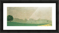Morning mist in Romanel by Felix Vallotton Picture Frame print