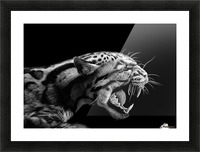 ANGER Picture Frame print