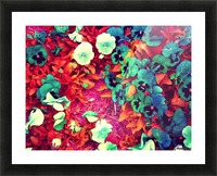 mwc garden flowers one Picture Frame print