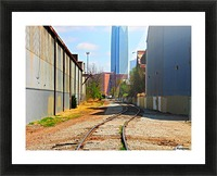 Rails2Jails- Original Picture Frame print