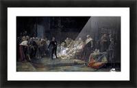 Ultima escena de Hamlet Picture Frame print