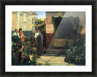 The Flower Market by Alma-Tadema Picture Frame print
