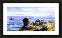 Porth Gwarra Picture Frame print