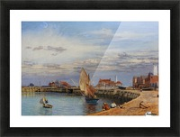 Entrance to Yarmouth Harbour Picture Frame print