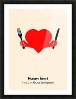 Hungry heart Picture Frame print