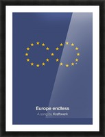 Europe endless Picture Frame print