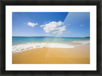 USA, Hawaii Islands, Maui, Big Beach; Makena Picture Frame print