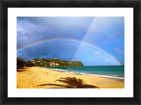 Rainbow Picture Frame print