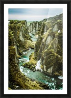 Green Canyon Picture Frame print