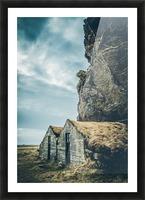 Turf Houses Impression et Cadre photo