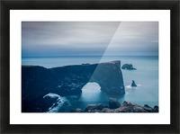 Dyrhólaey Picture Frame print